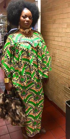 African shirt & skirt