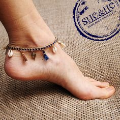 hand made anklets bracelets, anklet, macrame, seashell jewelry, summer jewelry