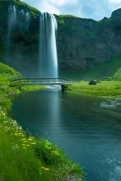 Waterfall Bridge, Seljalandsfoss Falls, Iceland   If You Like this Like Our Page : https://www.facebook.com/pateltravelcom  Web: http://pateltravel.com/ Email: info@pateltravel.com