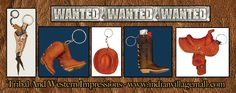 Western Wanted Key Chain And Key ring Collection