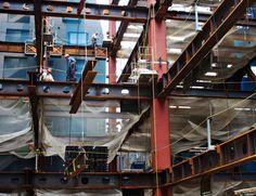 Building steel framework 1