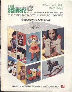 fao schwarz #toy #catalogue #1974