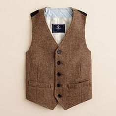 I love little boys in vests, so Judah will definitely have one... or several.
