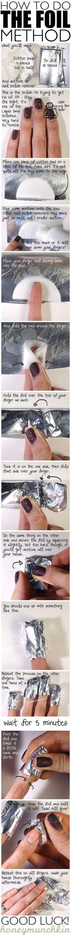 Tutorial: How to do the Foil Method ~ Maybe this time I'll get it right.