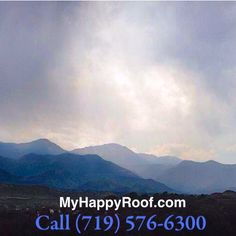 Thunderstorms are a common occurrence in Colorado Springs, particularly during the summer months. Is your roof prepared for heavy rain, hail and strong winds?  Our team is ready to assist you. Get a free estimate by contacting online: http://www.myhappyroof.com/contact/ or call (719) 576-6300.