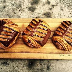 Nutella chocolate croissant . Coming early January @epicerieboulud . #newyorkcity #nyc #croissant#chefstalk #nutella#