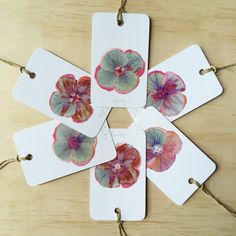 Poppy Patch 6 Gift Tags