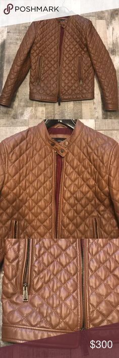 DSQUARED leather jacket size 50 No defects. Mint condition. 100% authentic. 100% leather. Size 50 men's DSQUARED Jackets & Coats Bomber & Varsity