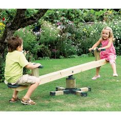 DIY Seesaw |Pinned from PinTo for iPad|