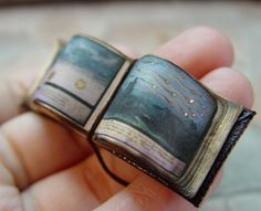 miniature Medieval Book of Miracles by EV Miniatures