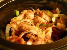 Fantastical Sharing of Recipes: Crockpot Chicken Fajitas