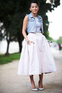 f2f15552e038 Street Chic  Paris Couture Week. Parížsky Štýl UliceParížska MódaStreet ...