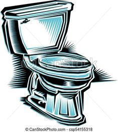 toilet Vector - stock illustration, royalty free illustrations, stock clip art icon, stock clipart icons, logo, line art, EPS picture, pictures, graphic, graphics, drawing, drawings, vector image, artwork, EPS vector art