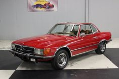 1973 Mercedes-Benz, 450SL  Stk#116 1973 Mercedes 450SL Hardtop and Convertible22,000 miles since rebuilt Painted Red with a removable hard top, wire rims with Cooper Lifeliner Touring SLC tires, front and rear bumper guards, grill is good. Front running lights are good. Wheel well trim is chrome. Body side moldings, chrome door handles, dual chrome outside mirrors, all trim and glass is good. Pow ..  http://www.collectioncar.com/detailed.php?ad=64601&category_id=1