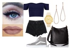 """""""Untitled #330"""" by rhay-q ❤ liked on Polyvore featuring Komono, Vans, Plukka, Rebecca Minkoff and Alexander Wang"""