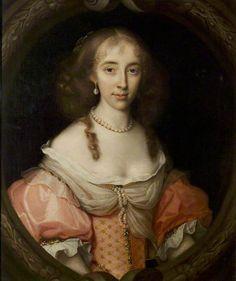 """Magdalen Aston, Lady Burdett"", John Michael Wright, 1669; NCM 1957-18"
