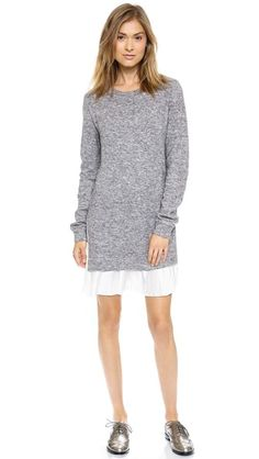 Clu Clu Too Pleated Sweater Dress