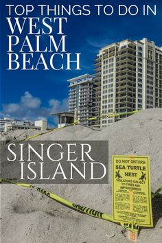 Things to do in West Palm Beach: Visit Singer Island with it's turtle nesting … – Travel Beach Vacation Tips, Cheap Beach Vacations, Beach Vacation Rentals, Florida Vacation, Florida Travel, Beach Trip, Beach Resorts, Hotels And Resorts, Travel Usa