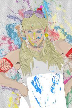 La Devo Art Print by @VictorAlaez on SALE