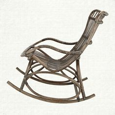 Grace Rocking Chair in Natural
