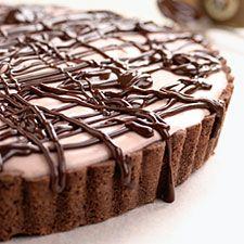 Cherry Chocolate Tart : King Arthur Flour