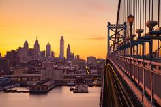 Bridge Sunset, Philly