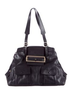 Black leather Givenchy tote with tonal top stitching be9178e56dcb7