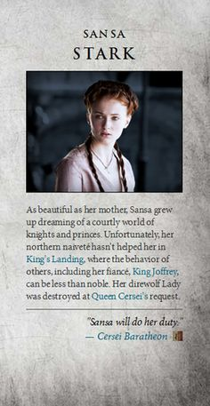 Game of Thrones images Sansa Stark wallpaper and background photos Related Post Beautiful Sansa jon snow, got, and game of thrones image Let's Sort the Game of Thrones Cast Into Hogwarts . Why isn't anyone paying attention to the Game . Game Of Thrones Images, Game Of Thrones Facts, Got Game Of Thrones, Game Of Thrones Quotes, Game Of Thrones Funny, Sansa Stark, Game Of Thrones Instagram, Got Characters, Good Movies To Watch