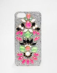 apple skinnydip jewelled iphone 5 cover  multi #skinny #accessories #technology #covetme