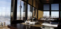 Canoe Restaurant & Bar is critically acclaimed to be among Canada's best restaurants, Canoe's unique location high atop the Toronto Dominion Bank Tower affords a breathtaking view of the city. http://events.cp24.com/venue/canoe-restaurant-and-bar