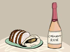 Sparkling wine, not just for Mimosas and appetizers! Say Yes to pairing bubbly wines with the main course