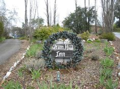 Entrance to the Union Hill Inn, Columbia, CA
