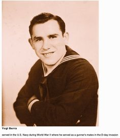 Yogi Berra Us Navy he served our country in the military