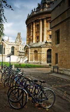 Oxford Bikes by Mark Spurgeon, Oxfordshire, England