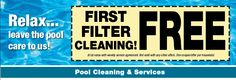 Free Estimates.... Pool Kings, Pool Care, Pool Cleaning, Cleaning Service, Palm Beach, Company Logo, Free, Pool Cleaning Service