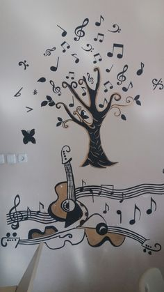 Müzik odası duvar dekoru