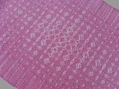 Fancy Lace & Spot Weave Variation - warp & weft floats on plain weave, pearl cotton, 2014