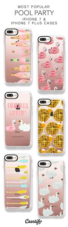 Most Popular Pool Party iPhone 7 Cases & iPhone 7 Plus Cases here > https://www.casetify.com/LaurenDavisDesign/collection