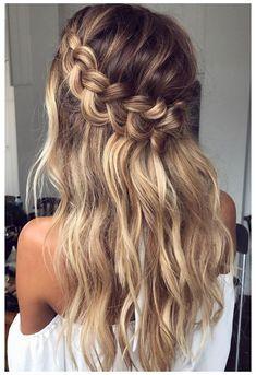 Braided Hairstyles For Wedding, Box Braids Hairstyles, Hairstyle Ideas, Hairstyles 2018, Boho Hairstyles Medium, Hairstyles Pictures, Hair Ideas, Ladies Hairstyles, Amazing Hairstyles