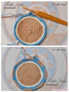 Le crochet jacquard et les sacs wayuu. Mochila Crochet, Bag Crochet, Crochet Purses, Crochet Home, Thread Crochet, Crochet Baby, Tapestry Crochet Patterns, Crochet Mandala Pattern, Diy Backpack