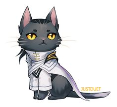 Lucian kitty By: JustDuet