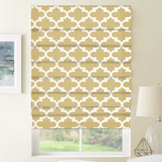 Selections Roman shades are available in spring-inspired florals, coastal stripes, and a whole rainb Fabric Roman Shades, Custom Roman Shades, Moving Home, Fabric Blinds, Shades Blinds, Roman Blinds, Window Coverings, Light Colors, Colours