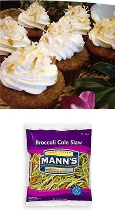 Five-a-Day Hawaiian Cupcakes
