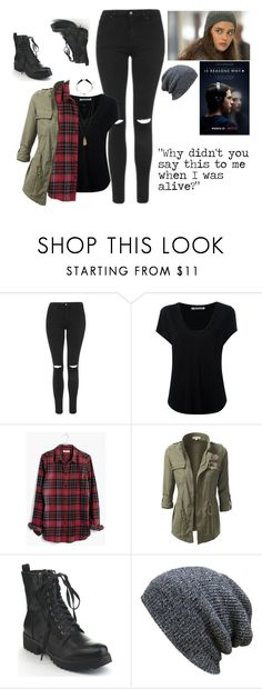 """""""Hannah Baker Style"""" by jonas-bros02 on Polyvore featuring Topshop, Alexander Wang, Madewell, KBETHOS and H&M"""