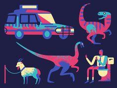 The Diet of a T-Rex by Owen Davey