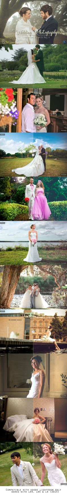 100 Wedding Photography Presets Vo.1 by Symufa on Creative Market