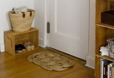 Coveting a nautical woven rope doormat? Channel your inner seafaring heroine and start knotting.