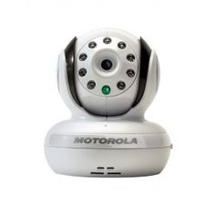 Motorola Baby Monitor with Pan, Tilt & Zoom - White Baby Registry Items, Baby Items, Baby Needs List, Best Baby Gifts, Audio, Working Mother, Baby Monitor, Baby Love, Videos