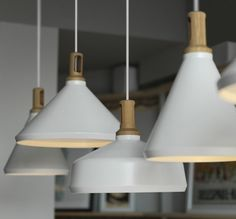 Paul Crofts Studio Nonla Lamps Hang in La Petite Bretagne | Remodelista