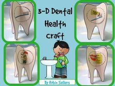 3-D Dental Health Craft by Robin Sellers
